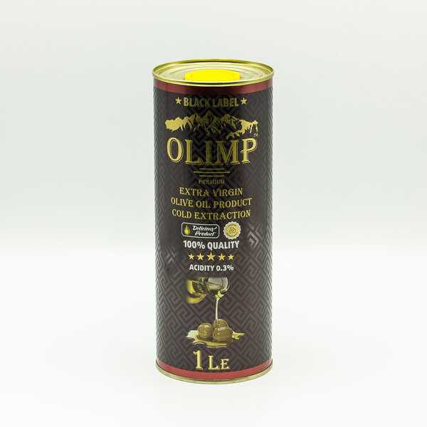Оливковое масло Olimp Black Label Extra Virgin  Olive Oil Cold Extractions 1 л